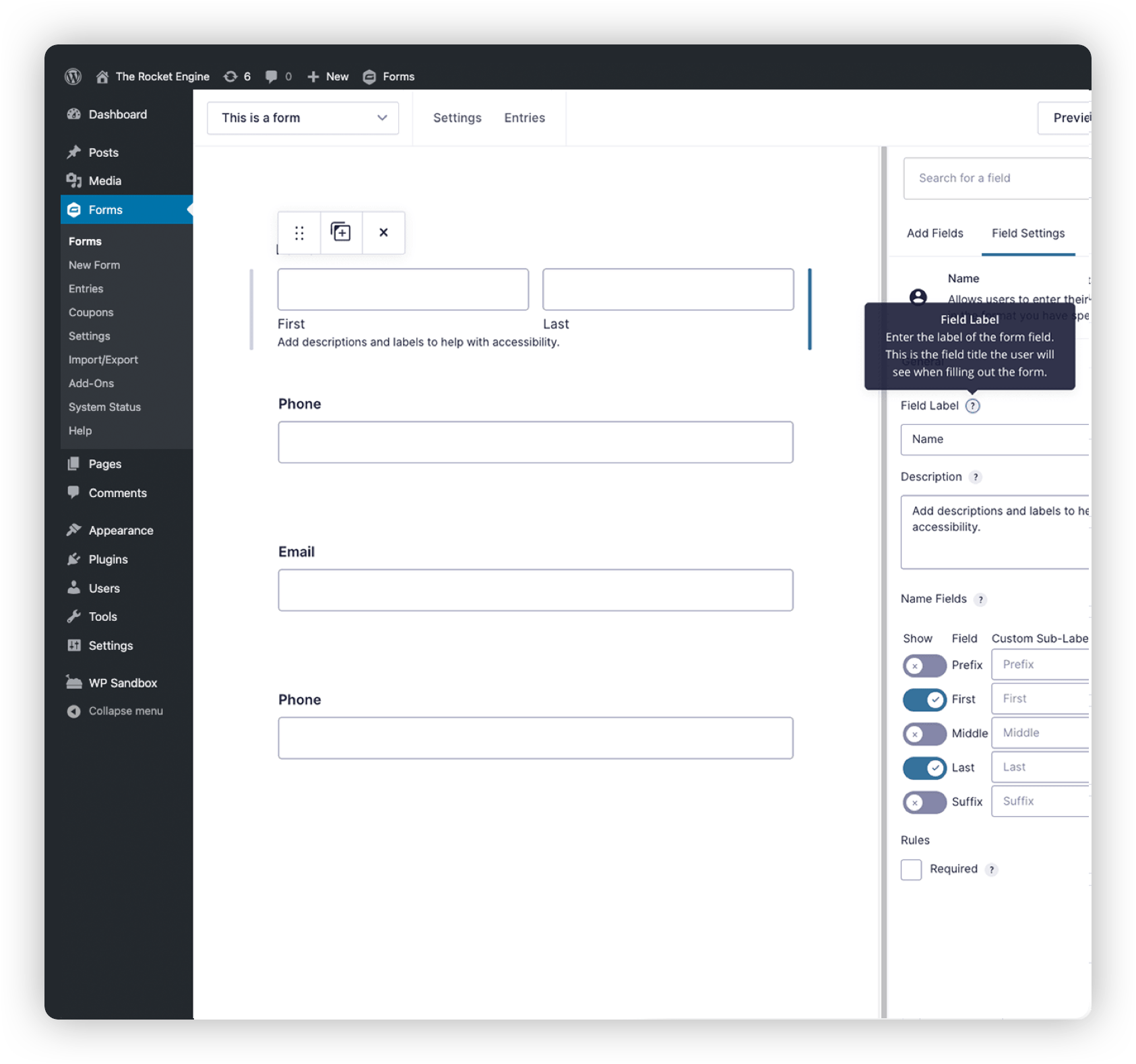 Build Accessible Forms